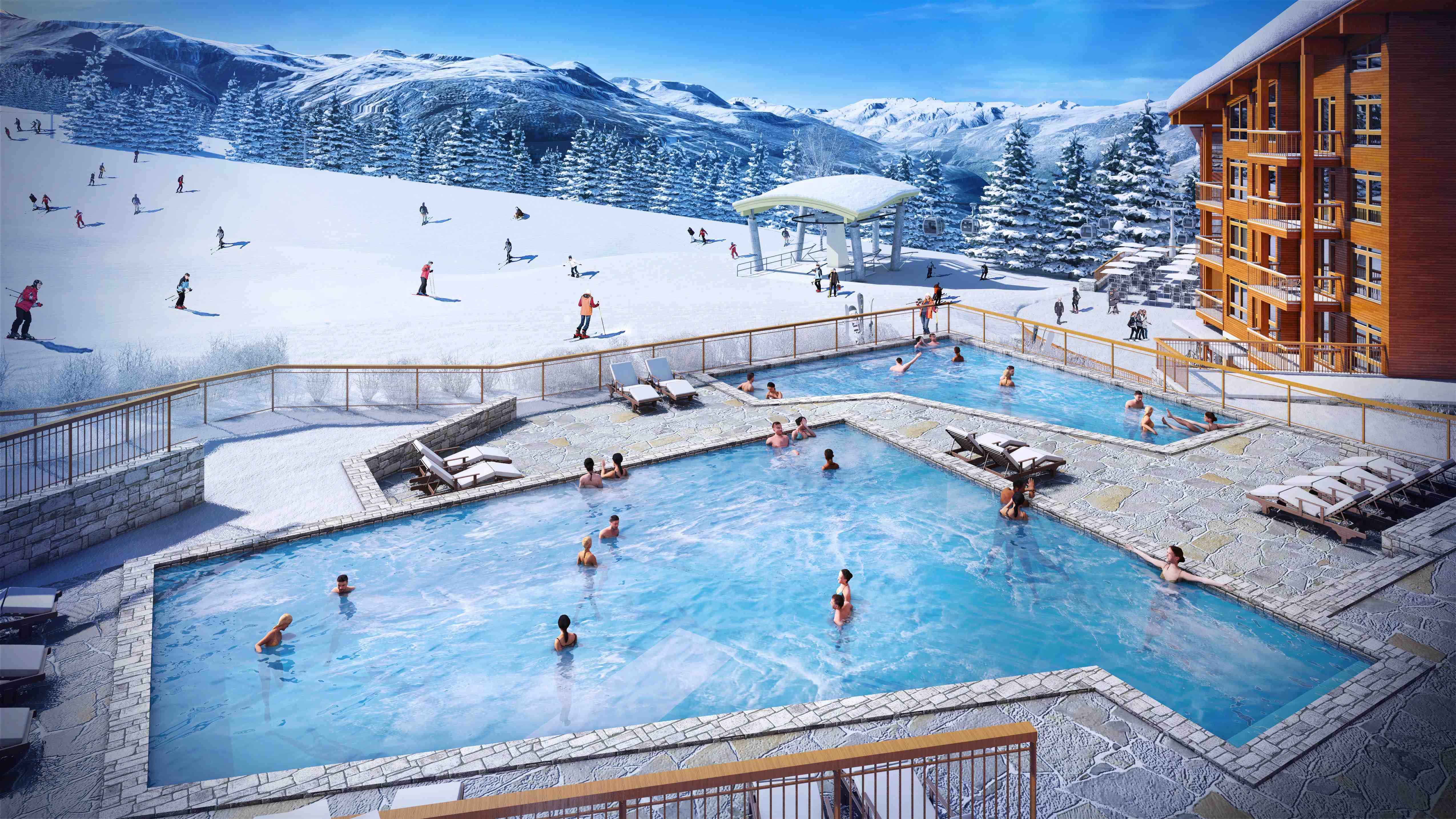 Familia investissements for Piscine les 2 alpes